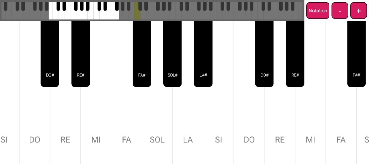 Simple Piano Keyboard